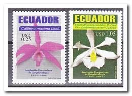 Ecuador 2004, Postfris MNH, Flowers, Orchids - Ecuador