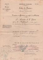 Ministère Guerre / Promotion 1888 Lieutenant / Infanterie / Tirage Au Sort St Loup (70) - Unclassified