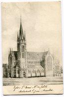 CPA - Carte Postale - Belgique - Molenbeek-St-Jean - Eglise Saint Henri - 1921 (CP2915) - Molenbeek-St-Jean - St-Jans-Molenbeek