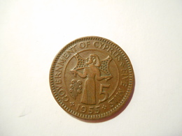 CIPRO 5 MILS 1955 - Chipre