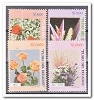 Ecuador 1998, Postfris MNH, Flowers - Ecuador