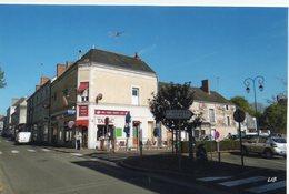 Chalonnes-sur-Loire Animée Rue Du Vieux Pont Café Des Sports Tabac Voitures Tirage Confidentiel Photo Livenais - Chalonnes Sur Loire