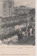57 - METZ - INAUGURATION DU TEMPLE PAR LE KAISER LE 14 MAI 1904 - Metz