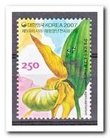 Zuid Korea 2007, Postfris MNH, Flowers, Orchids - Korea (Zuid)