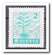 Zuid Korea 1957, Postfris MNH, Trees - Korea (Zuid)