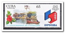 Cuba 2004, Postfris MNH, Flowers, Boat, Expocuba - Cuba
