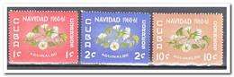 Cuba 1960, Postfris MNH, Flowers, Christmas - Cuba