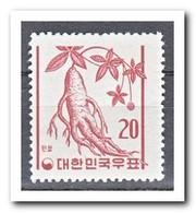 Zuid Korea 1961, Postfris MNH, Plants - Korea (Zuid)