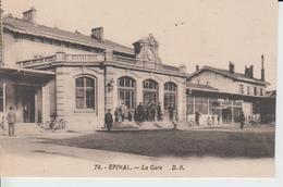 GARES - 79 - EPINAL - La Gare D.D. - Gares - Sans Trains