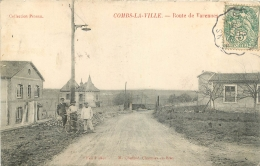 COMBS LA VILLE ROUTE DE VARENNES - Combs La Ville