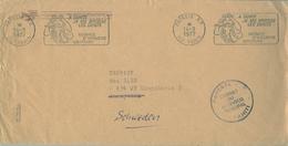 1977 TAHITÍ  , PAPEETE - KUNGSBACKA ( SUECIA ) , RODILLO PUBLICITARIO HIGIENE DENTAL - Tahití