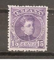 España/Spain-(MH/*) - Edifil  246 - Yvert  216A - 1889-1931 Reino: Alfonso XIII
