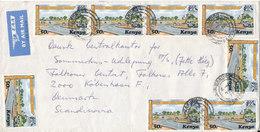 Nigeria Air Mail Cover Sent To Denmark 8-12-1977 - Nigeria (1961-...)
