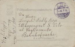 Feldpostkorrespondenzkarte - K.u.k. Infanterieregiment Nr. 91 - 1916 (34581) - 1850-1918 Imperium
