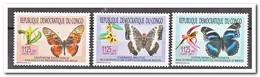 Congo 2011, Postfris MNH, Butterflies, Flowers, Orchids - Ongebruikt