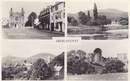 Postcard Abergavenny Multiview  My Ref  B12129 - Monmouthshire