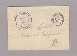 LSC 1920 - Cachet Trésor Et Postes Et Cachet Armée Du Rhin - Marcofilia (sobres)