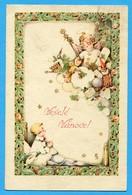 Noel  Weihnachten  Christmas  Ange  Enfant  Jouets Pinocchio Teddy Bear - Noël