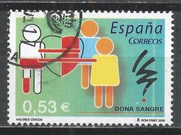 Spain 2005. Scott #3346 (U) Blood Donation * - 2001-10 Oblitérés