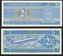 ANTILLE OLANDESI (Netherlands Antilles) : 2,5 Gulden 1970 - P21 - UNC - Banconote