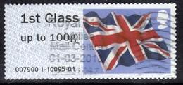 GB 2012 QE2 1st Class Post & Go Union Flag  ( D1330 ) - Great Britain
