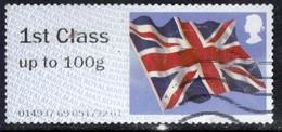 GB 2012 QE2 1st Class Post & Go Union Flag  ( D1321 ) - Great Britain