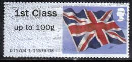 GB 2012 QE2 1st Class Post & Go Union Flag  ( D1307 ) - Great Britain