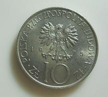 Poland 10 Zlotych 1975 - Polonia