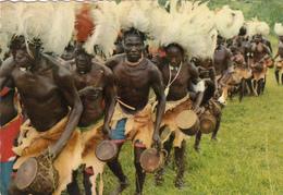 UGANDA - Bwola Dancers 1972 - Uganda