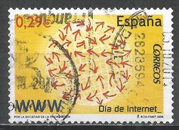 Spain 2006. Scott #3414 (U) Internet Day * - 2001-10 Oblitérés