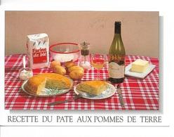 Recette Du PATE Aux Pommes De Terre  / CPM Sandillon N° 36999008 Voy. 1998/ / FLAMME ISSOUDUN/ Excellent état +++++ - Recettes (cuisine)