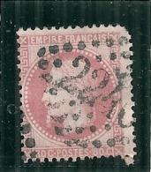 Napoléon Lauré  N° 32  - Rose - Côte 30€ Angle Manquant - 1863-1870 Napoleon III With Laurels