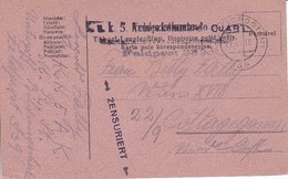 Feldpostkarte - K.u.k. 5. Armeekommando Feldpost 339 - 1916 (34600) - 1850-1918 Empire