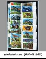 COOK ISLANDS - 1992 WILD ANIMALS & BIRDS - 23V - MINT NH - Birds