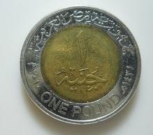 Egypt 1 Pound 2010 - Egypte