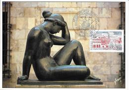2698 - FÉDÉRATION FRANÇAISE DES ASSOCIATIONS PHILATÉLIQUES - 64e CONGRES PERPIGNAN, 1er Jour D'émission 18-5-91 - Maximumkarten