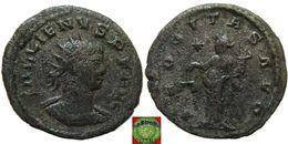 Roman Empire - BI Antoninian Of Gallienus (253-268 AD), AEQVITAS AVG  Mint Year: 253-268 AD Mint City: Antioch  Descript - 5. Der Soldatenkaiser (die Militärkrise) (235 / 284)