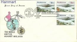Philippines 1962 Mi 710-712 FDC ( FDC ZS8 PLP710-712 ) - Disease