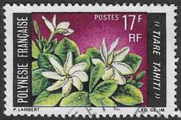 French Polynesia SG92 1969 Flowers 17f Good/fine Used [37/30698/7D] - French Polynesia