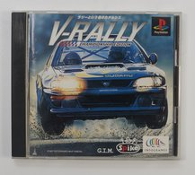 PS1 Japanese : V-Rally: Championship Edition SLPS-01149 - Sony PlayStation