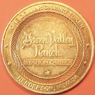 $1 Casino Token. Green Valley Ranch, Henderson, NV. D92. - Casino