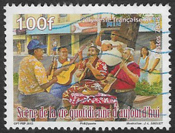 French Polynesia 2013 Streetlife 100f Good/fine Used [10/26047/7D] - Used Stamps