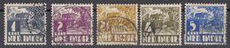 INDIE OLANDESI - NEDERL INDIE - 1934/1937 - Lotto 12 Valori Obliterati (vedi Descrizione) - Niederländisch-Indien