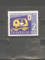 Yugoslavia - 1957. Battle Against Tuberculosis, MNH - 1945-1992 Socialistische Federale Republiek Joegoslavië