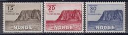 Norway 1943 - Nordkap-Ausgabe, Mi-Nr. 284/86, MNH** - Ungebraucht