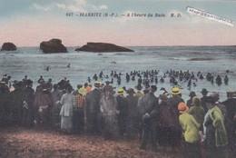 BIARRITZ - Dépt 64 - à L'heure Du Bain - CPA - Biarritz