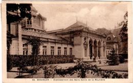 6AY 919. BESANCON - ETABLISSEMENT DES BAINS SALINS DE LA MOUILLERE - Besancon