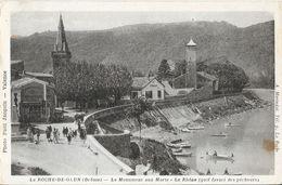 La Roche-de-Glun (Drôme) - Le Monument Aux Morts, Le Rhône, Golf Favori Des Pêcheurs - Edition A. Mérindat - Other Municipalities