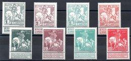 Belgique - YT N° 84 à 91 - Neufs * - Cote: 40,00 € - 1910-1911 Caritas