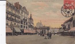 TROYES 10 AUBE PLACE DE L'HOTEL DE VILLE BELLE CARTE RARE !!! - Troyes